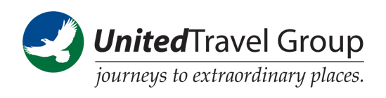 United Travel Group: Journeys to extraordinary places. 800-223-6486
